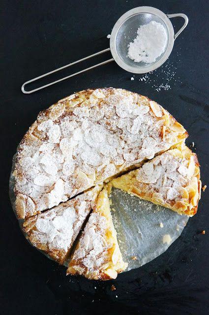 pastel de almendras