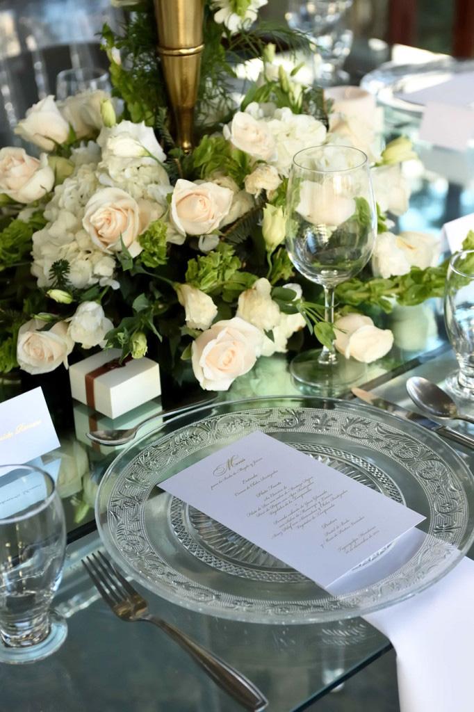boda puesto de mesa